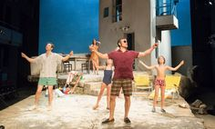 Έλληνες ηθοποιοί στο Εθνικό Θέατρο της Αγγλίας