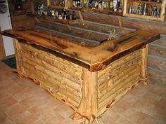 bar idea for man cave