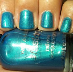 The Polish Diva: Wet n Wild Fast Dry Swatches and Review