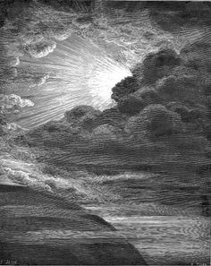 The Creation of Light by Paul Gustave Doré