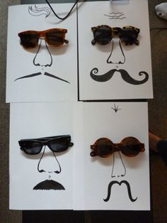 #Movember #Sunwear Display: Harvey Nichols loves... Hentsch Man sunnies styling!