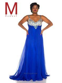 MacDuggal royal prom dress at  Ashley Rene's  Elkhart, IN  574-522-7766   We ship nationwide. #wedressthebest #ashleyrenesgirl #prom
