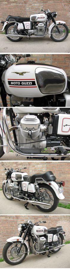 1969 Moto Guzzi A-Series Ambassador :: eBay Deluxe Dive. Nice restoration on this '69 Moto Guzzi. Current bid is $5,150. moto# guzzi#