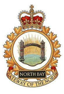 CFB North Bay - Wikipedia Royal Canadian Navy, Canadian Army, Military Careers, Ship Paintings, Armed Forces, Badges, Aviation, Crests, Letterhead