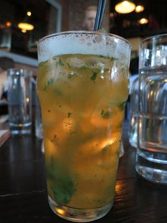 apple ginger sage soda