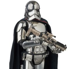 "Catpain Phasma 6"" MAFEX action figure"