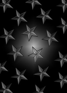 Star Wallpaper, Glitter Wallpaper, Star Background, Background Patterns, Stars At Night, Iphone Wallpapers, Backgrounds, Black And White, Abstract