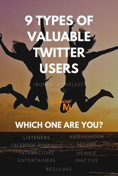 9 Types Of Valuable #Twitter Users - There are many types of different Twitter users, and they often misunderstand each other. Which one are you? - http://blog.thesocialms.com/9-types-valuable-twitter-users-bonus-2-useless-types/
