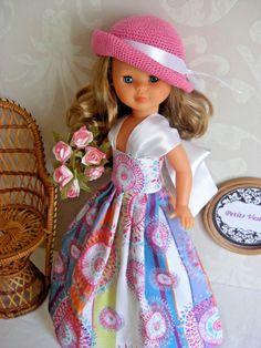 Vestido para Nancy, Pepa's, Mari's + OBSEQUIO. Creado por Petits Vestits.