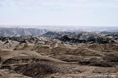 #DailyEscape: #Namibia's famous #MoonLandscape is a rocky desert which formed by the valleys of the Swakop river.