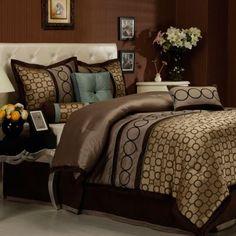 Linx 7 piece comforter set is a beautiful  Jacquard design. It is a...