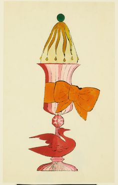 Untitled (Ice Cream Dessert), Andy Warhol, Circa 1959 #andywarhol