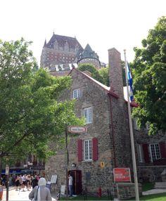 Château Frontenac Quebec. Castillo Frontenac