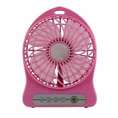 Portable Flexible Electrical Mini Usb Fan Gadget Ventilador Portatil Ventilateur Fans Battery Powered for Table Laptop Cooling Pink *** You can find more details by visiting the image link. (Note:Amazon affiliate link)
