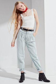 d7a185201fae BDG High-Rise Carrot Jean – Bleach Out Best Clothing Brands