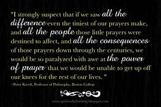 The Power Of Prayer Quote