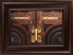 Salt Lake Temple Doors (19x25 Canvas Giclee)