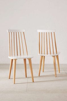 Lila Spindle Dining Chair Set - Urban Outfitters