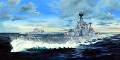 1941 HMS Hood - Trompetista
