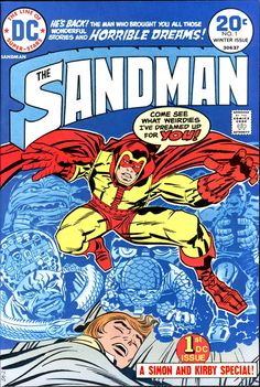 The Sandman #1 (1974) by Jack Kirby.