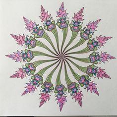 Denksport mandala met Bruijnzeel keverblik