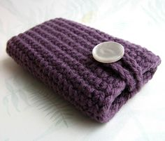 easy cell phone cover.. again, if i know how to crochet