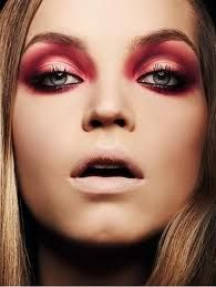 Instead of red lips go for red eyeshadow, LOVE it!   Pixiwoo.com -Autumn/Winter Trends