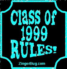 Yeah Baby! Class of 1999!