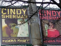 Multimediataiteilija Jemina Staalon portfolio: Cindy Sherman @ Moderna Museet 15.01.2014: Untitled horrors Cindy Sherman, Metro Station, Scandinavian Design, Horror, Nordic Design