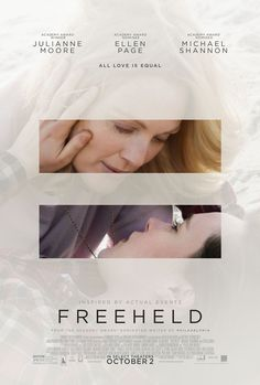 High resolution official theatrical movie poster ( of for Freeheld Image dimensions: 2000 x Directed by Peter Sollett. Starring Julianne Moore, Ellen Page, Steve Carell, Michael Shannon Movie Poster Size, Movie Posters, Cinema Posters, Luke Grimes, Pretty Movie, Image Internet, Johnny Marr, Ellen Page, Michael Shannon