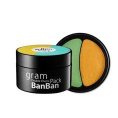 Gram Double Chemi Banban Pack  130g / 4.58oz #Gram #333korea #skincare #beauty #koreacosmetics #cosmetics #oppacosmetics #cosmetic #koreancosmetics