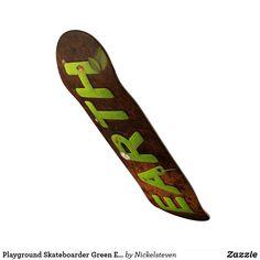 Shop Playground Skateboarder Green Earth Ladybird Grass Skateboard created by Nickelsteven. Green Earth, Skateboards, Playground, Outdoor Gear, Gears, Children Playground, Gear Train, Skateboard, Outdoor Playground