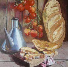 Joan Pauló - Pa amb Tomàquet - Pan con Tomate - Bread with Tomato
