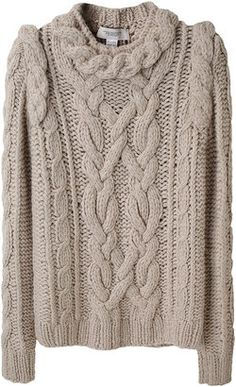 ShopStyle: Pringle of Scotland / Rope Cable Sweater