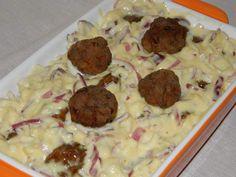Retete culinare : Chiftelute cu maioneza si ceapa, Reteta postata de MotanLaOale in categoria Aperitive / Garnituri