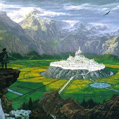 Gondolin En el año 511 Gondolin fue arrasada por una horda de Orcos, Balrogs, lobos y Dragones, por la traición de Maeglin, que reveló el emplazamiento de Gondolin a Morgoth, después de haber caído en las palabras llenas de malicia de Morgoth y también por el deseo enfermo hacia su prima Idril. Gondolin fue el último de los reinos de Beleriand en sufrir el Hado de los Noldor.