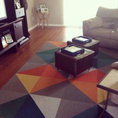 Buy Made You Look-Kiwi carpet tile by FLOR