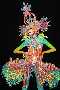 Art Comes Alive At 20th Annual World Bodypainting Festival