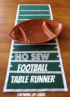 This football table decoration is a great way to put points on the board at your football party, tailgate event, or Super Bowl celebration! Description from pinterest.com. I searched for this on bing.com/images