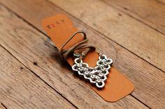 Heart HexNut Necklace by mytinytrinkets on Etsy