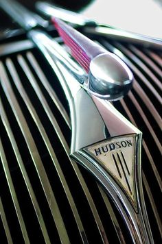 Hudson Hood Ornaments....Re-Pin brought to you by #ClassicCarInsurance agents at #HouseofInsurance Eugene