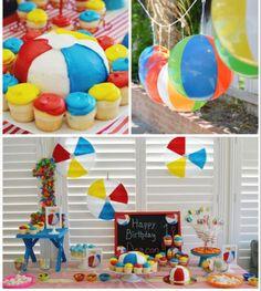 beach birthday it s a beach bash 2nd birthday party for joey