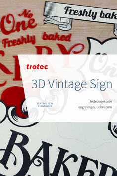 Feeling nostalgic? Create your very own vintage-themed sign! We made this with our Speedy 400 120W laser. Follow the link for a step-by-step tutorial! #troteclaser #trotec #signage Trotec Laser, 3d Signs, Vintage Signs, Retro Fashion, Signage, Create Yourself, Knowledge, Feelings