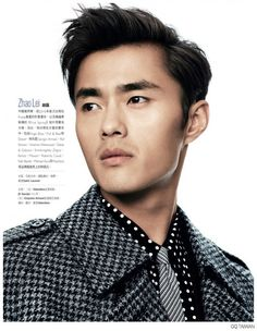 Chiun Kai Shih Shoots Top Asian Male Models for GQ Taiwan - Beautiful pattern mix