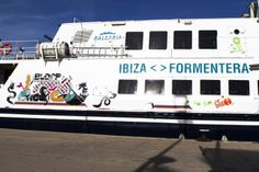 BLOOP 2014 preview MAVERICK BALEARIA BOAT bloop festival: 20th July/24th August 2014 #bloopfestival #ibiza #festival #boat #artworks #balearia #formentera
