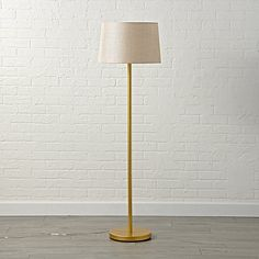 Floor Lamp Base Interesting Mix And Match White Floor Lamp Base  The Land Of Nod  Nursery Inspiration Design