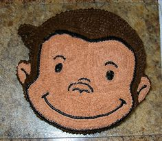 Curious George Cake - about my level First Birthday Themes, Monkey Birthday, Birthday Cake Girls, 3rd Birthday Parties, Birthday Bash, Birthday Ideas, Curious George Cakes, Curious George Party, Curious George Birthday