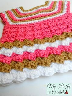 "My Hobby Is Crochet: Crochet baby cardigan ""Stripes and bubbles""- Free Pattern  must make for Wren.  @April Cochran-Smith Cochran-Smith Cochran-Smith Lambert"