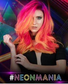 Join the neon mania hair craze!