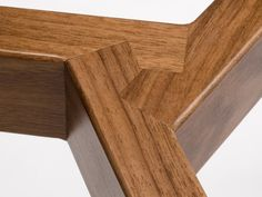 """""""Pinwheel joinery"""" in Stretch coat rack by Misewell"""
